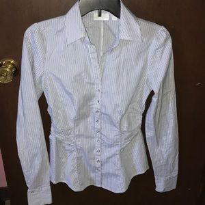 NWOT New York & Company Button-Down Top